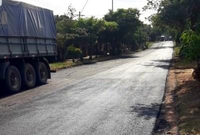 Ruta del progreso; tramo de 5,2 kilómetros ya está asfaltado