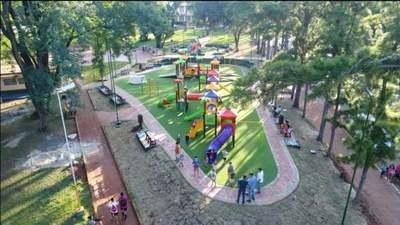 Anuncian que el mayor parque inclusivo en Franco será inaugurado esta semana