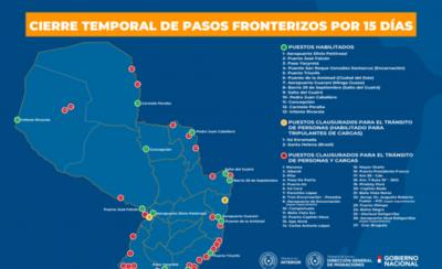 HOY / Coronavirus: prohíben ingreso al país de extranjeros no residentes