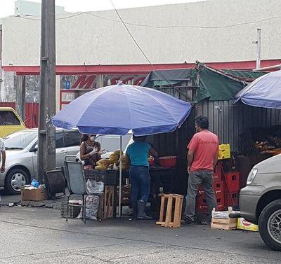 Actividades en el Mercado 4 no paran, pese a cuarentena