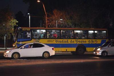 Buses no acatan medida de prevención contra el coronavirus