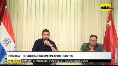 ANR: Se produjo reunión Abdo-Cartes