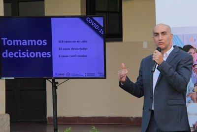 Suman 9 los casos confirmados de coronavirus en Paraguay