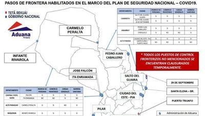 Cierre de fronteras no implica un eventual desabastecimiento, según director de Aduanas