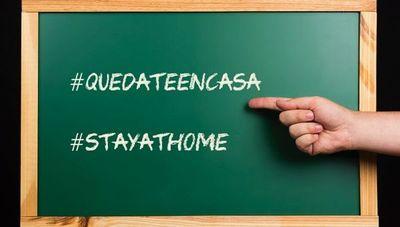 Campaña #QuedateEnCasa, el hashtag al que todos se suman
