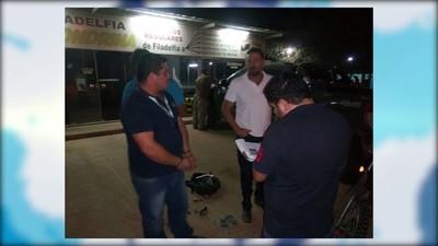 DETIENEN A DOS SUJETOS SOSPECHOSOS DE MICROTRÁFICO DE DROGAS EN FILADELFIA – CHACO PARAGUAYO