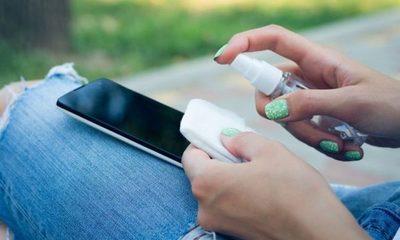 Como limpiar tu celular para que no propague virus ni bacterias