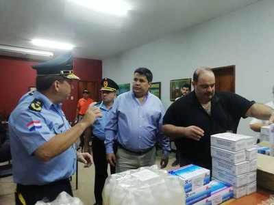 Gobernación entrega lote de insumos a Jefatura Departamental