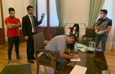 Salud Pública monitoreará a personas que entraron en contacto con Villamayor en Palacio de López