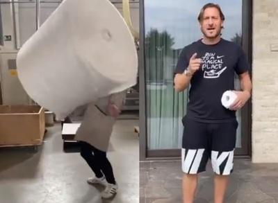 VIDEO: El reto viral de hacer picaditas con rollos de papel higiénico