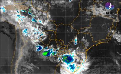 HOY / Alerta de lluvias, tormentas y granizos para Central y otros departamentos