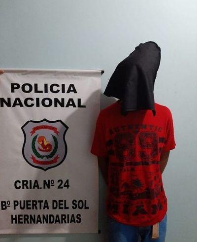 Capturan a presunto ladrón en Hernandarias