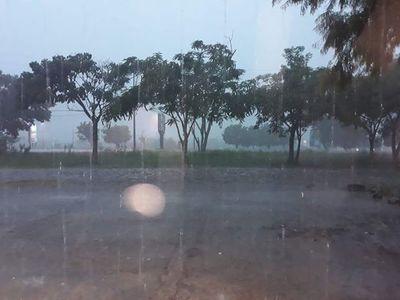 Lluvias y tormentas eléctricas para el sur