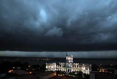 Alerta de tormentas eléctricas para 9 departamentos
