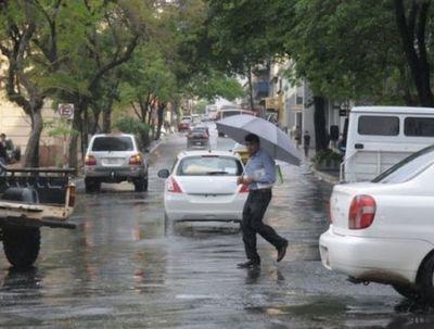 Jornada con lluvias y ocasionales tormentas eléctricas