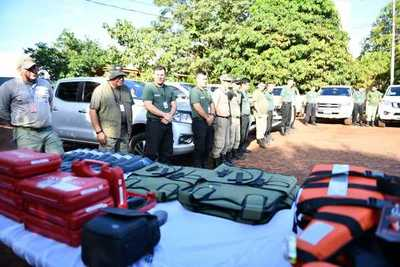 Itaipú incorpora nuevos guardias para mejorar control en reservas