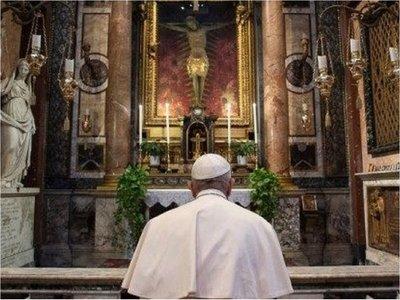 La oración del papa Francisco en momentos de pandemia