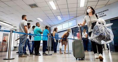 Paraguay quedaría 100% sin vuelos desde el sábado