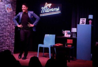 Desde el Teatro Latino, Manni Delvalle transmitirá su unipersonal