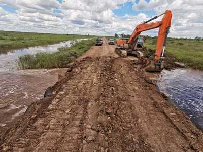 Concluyó instalación de drenajes en el tramo Virgen de Fátima- Fortín General Díaz