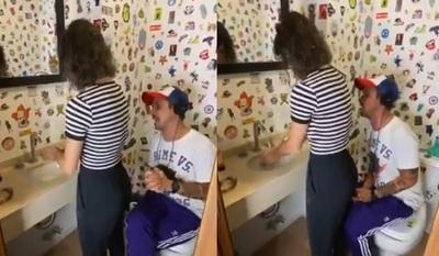 VIDEO: El apasionado relato del lavado de manos
