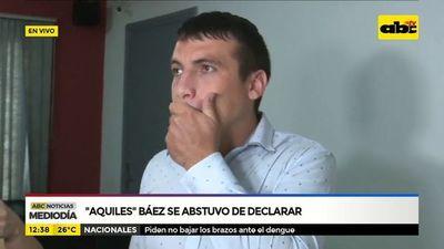 """Revocan salidas transitorias a """"Aquiles"""" Báez"""