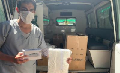 HOY / Distribuyen insumos a varios hospitales de Asunción y área metropolitana