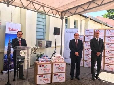 Taiwán dona insumos para la lucha contra el coronavirus •