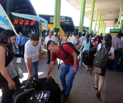 Cierran la Terminal de Ómnibus desde esta noche