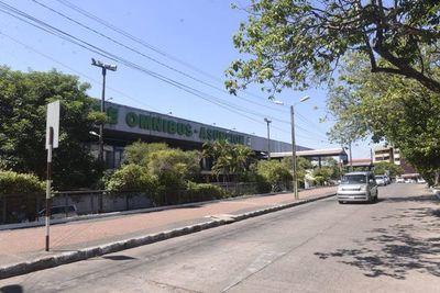 Terminal de Ómnibus de Asunción omboty medida preventiva coronavirus rehe
