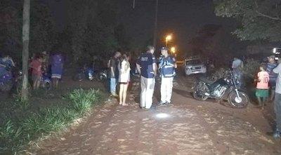 Falleció esposo de la mujer que fue baleada en Itauguá