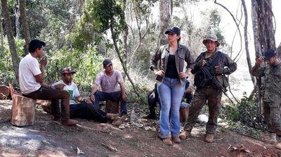 Prisión para  detenidos por invasión y tala en Morombí