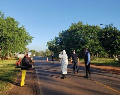 Coronavirus: Municipalidad de Ybycuí cierre entrada y salida a la ciudad