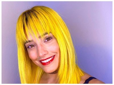 Kassandra estrenó pintoresco look