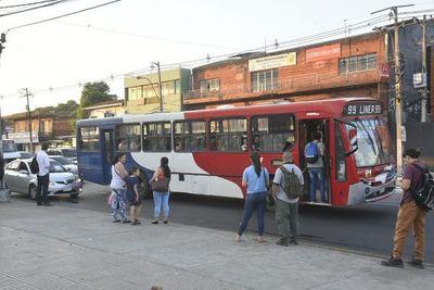 Dinatrán dispone nuevo recorrido de buses ante el cierre de la Terminal de Asunción