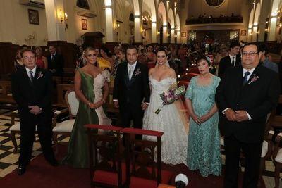 Leticia y Julio César se casaron