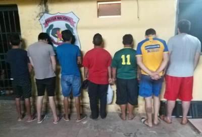 Nueve detenidos en Luque por violar estado de alarma •