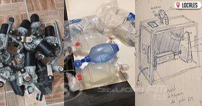En Encarnación: Fabrican respirador artificial casero para apoyar combate al COVID-19