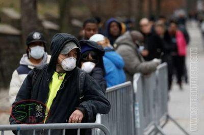 Nueva York confirmó 4.812 nuevos casos de coronavirus y ya son más de 15 mil los infectados