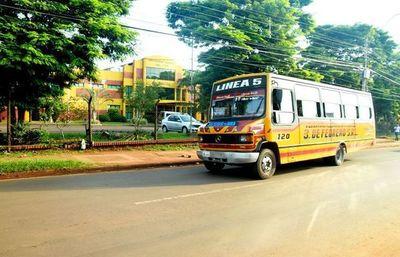 Suspenden transporte público en CDE