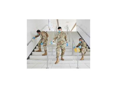 Trump recurre a la Guardia Nacional para enfrentar crisis