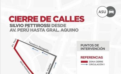 HOY / Inició cierre de calles aledañas al Mercado 4