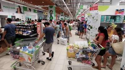 Ciudadanos denuncian suba de precios en supermercados