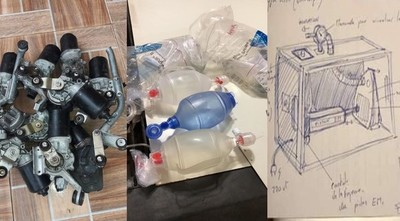 Encarnacenos desarrollan prototipo de respirador de emergencia
