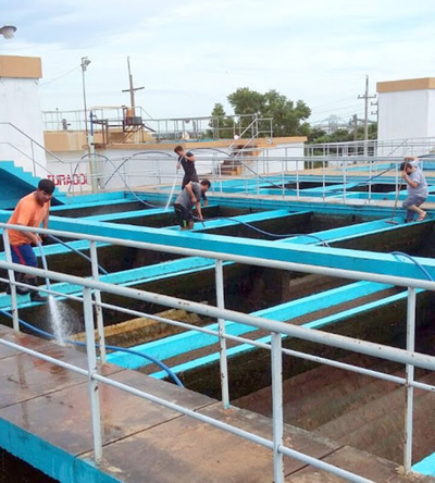 ESSAP renueva equipos en centros de distribución y Planta de Tratamiento
