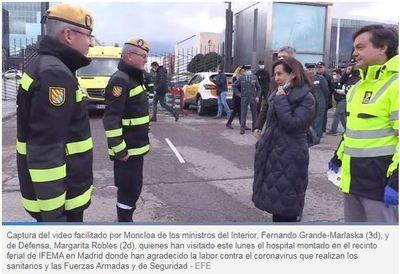 España: Margarita Robles: «En algunas residencias el Ejército se ha encontrado a ancianos muertos en sus camas»