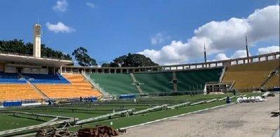 Covid-19: Un estadio mundialista de Brasil será hospital