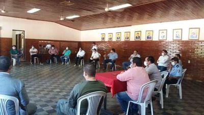 Autoridades municipales decidieron que policías y militares sitien Horqueta contra el coronavirus