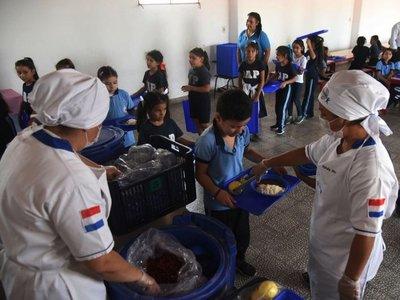 Estudiantes exigen la provisión de alimentación escolar en cuarentena