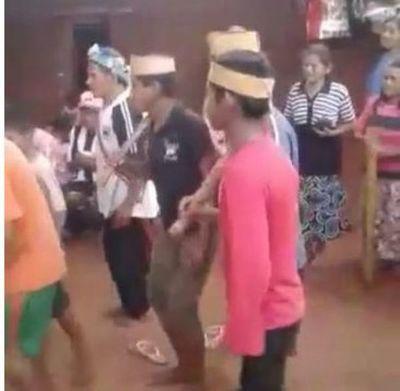 El impactante ritual Ava Guaraní contra el coronavirus